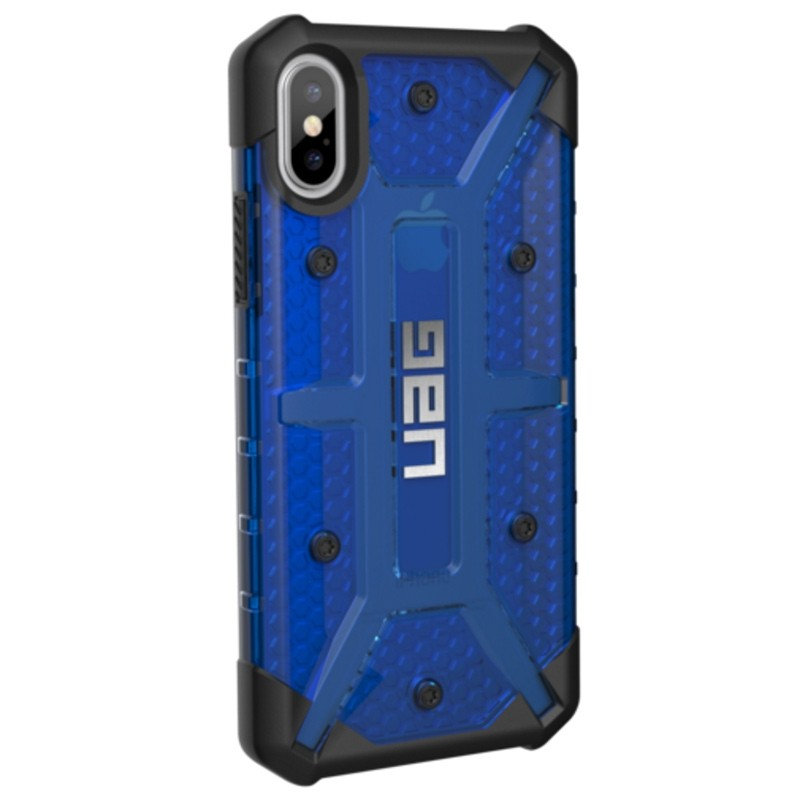 UAG - Plasma iPhone X Case Cobalt Blue 03