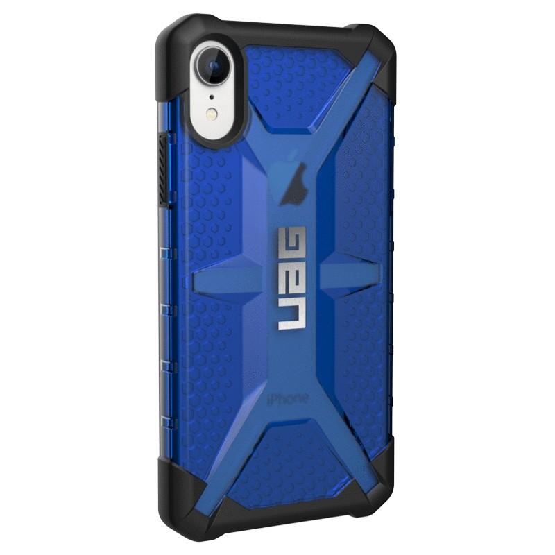 UAG Plasma iPhone XR Hoesje Blauw 03