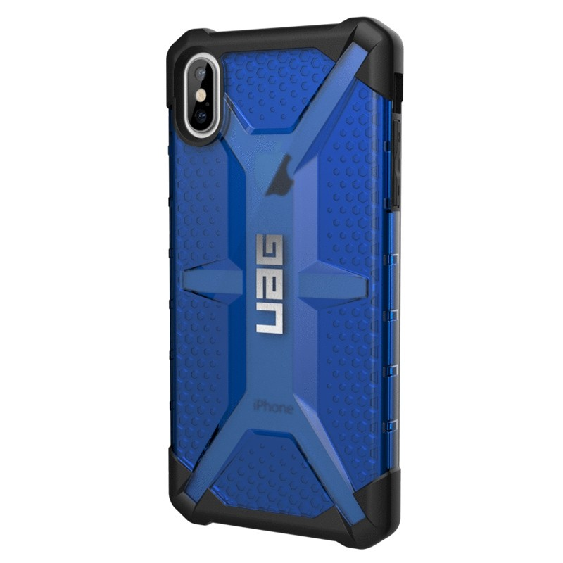 UAG Plasma Case iPhone XS Max Hoesje Cobalt Blue 03