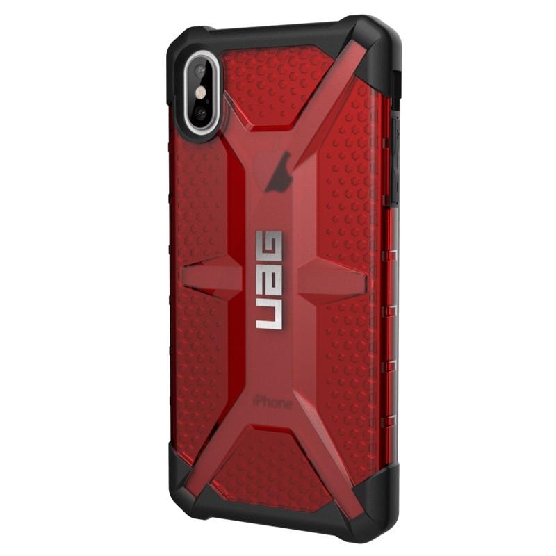 UAG Plasma Case iPhone XS Max Hoesje Magma rood 03