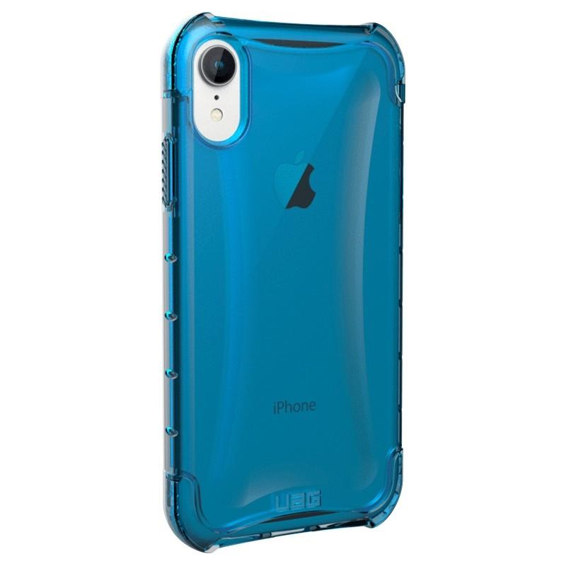 UAG Plasma iPhone XR Hoesje Blauw Transparant 03