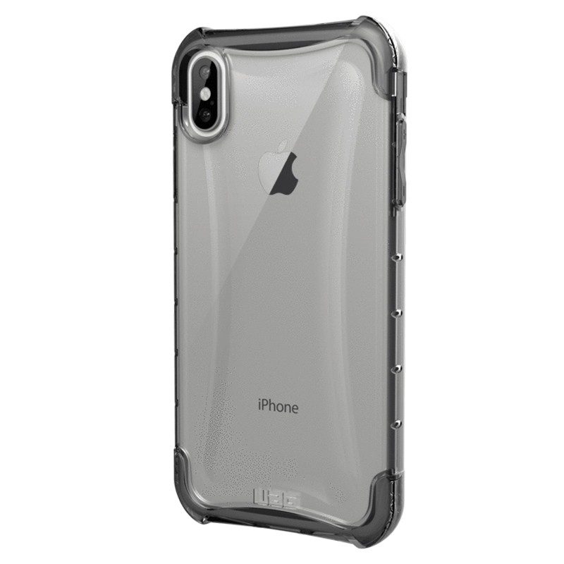 UAG Plyo iPhone XS Max Hoesje Ice Clear 03