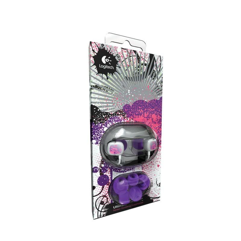 Ultimate Ears 100 In-ear Purple Splatter - 3