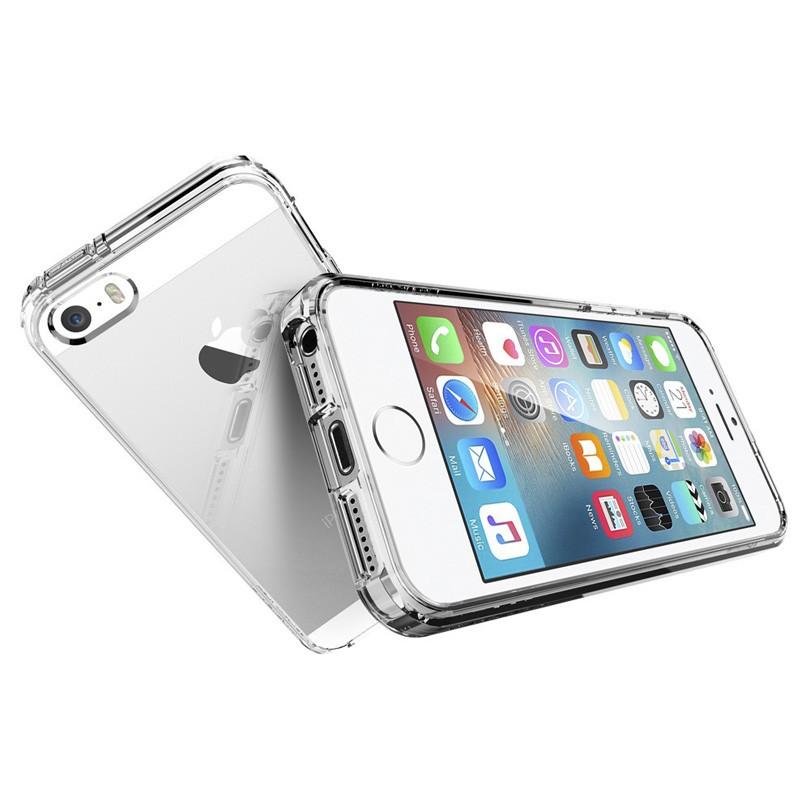 Spigen Ultra Hybrid Case iPhone SE / 5S / 5 Clear - 3