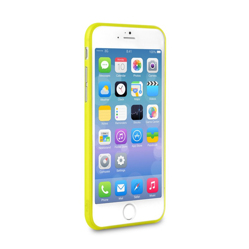 Puro UltraSlim Backcover iPhone 6 Yellow - 3