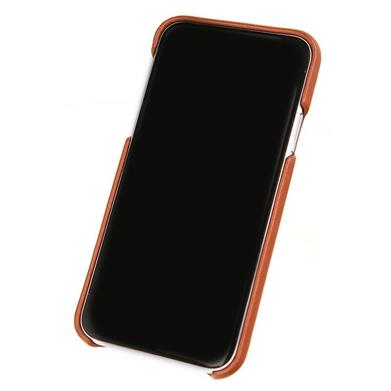 Valenta Back Cover Classic Luxe iPhone X/Xs Brown - 3