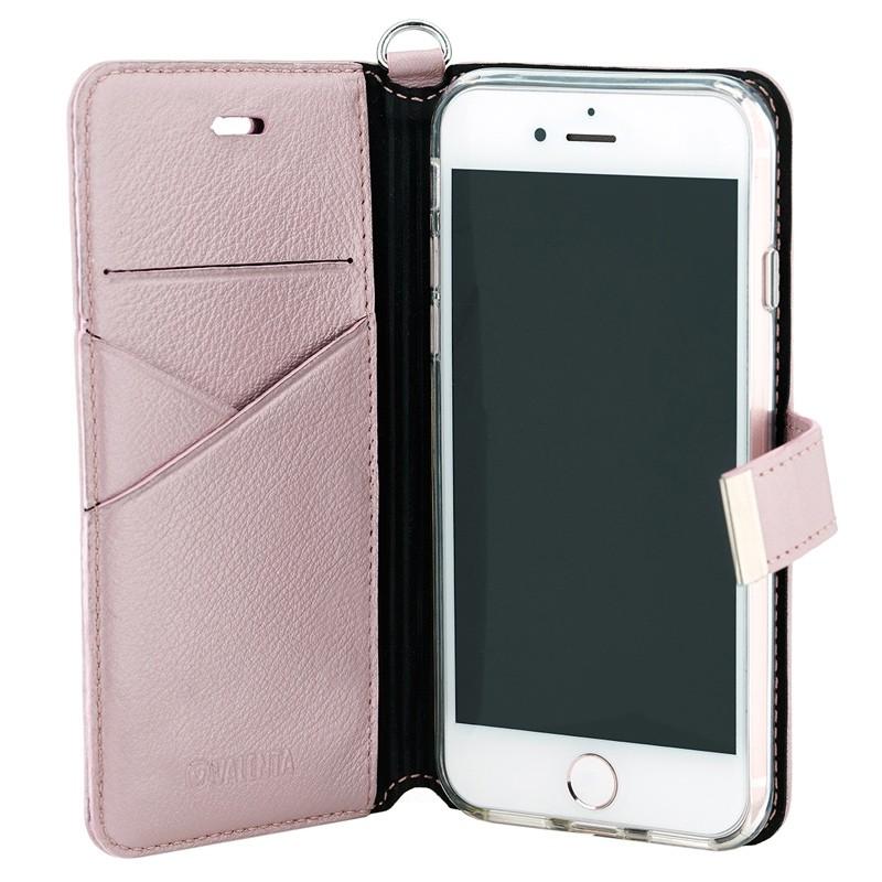 Valenta Premium Booklet iPhone 8/7 rose gold 03