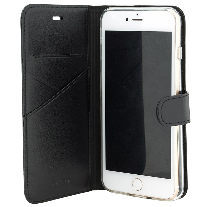 Valenta Premium Booklet iPhone 8 Plus/7 Plus black 03