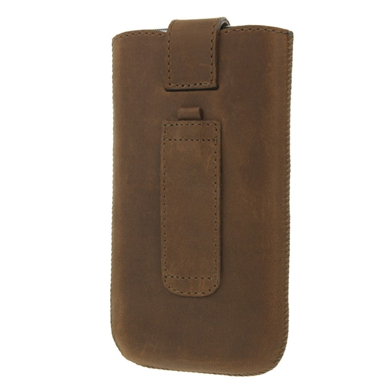 Valenta Lucca Pocket Case iPhone 8/7/6S/6 vintage brown 03