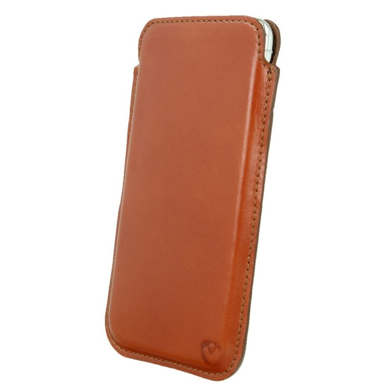 Valenta Pocket Premium iPhone XR Sleeve Bruin - 3
