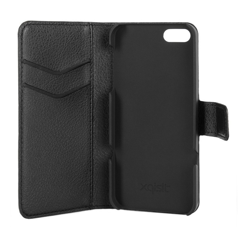 Xqisit Slim Wallet Case iPhone 5/5S Black - 3