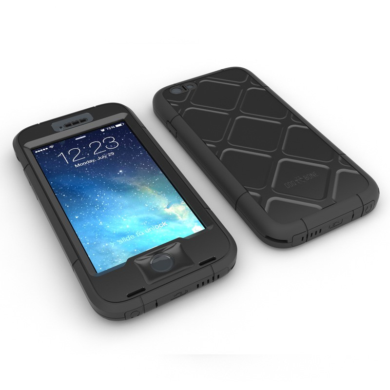 Dog and Bone Wetsuit Phone 6 Black - 3