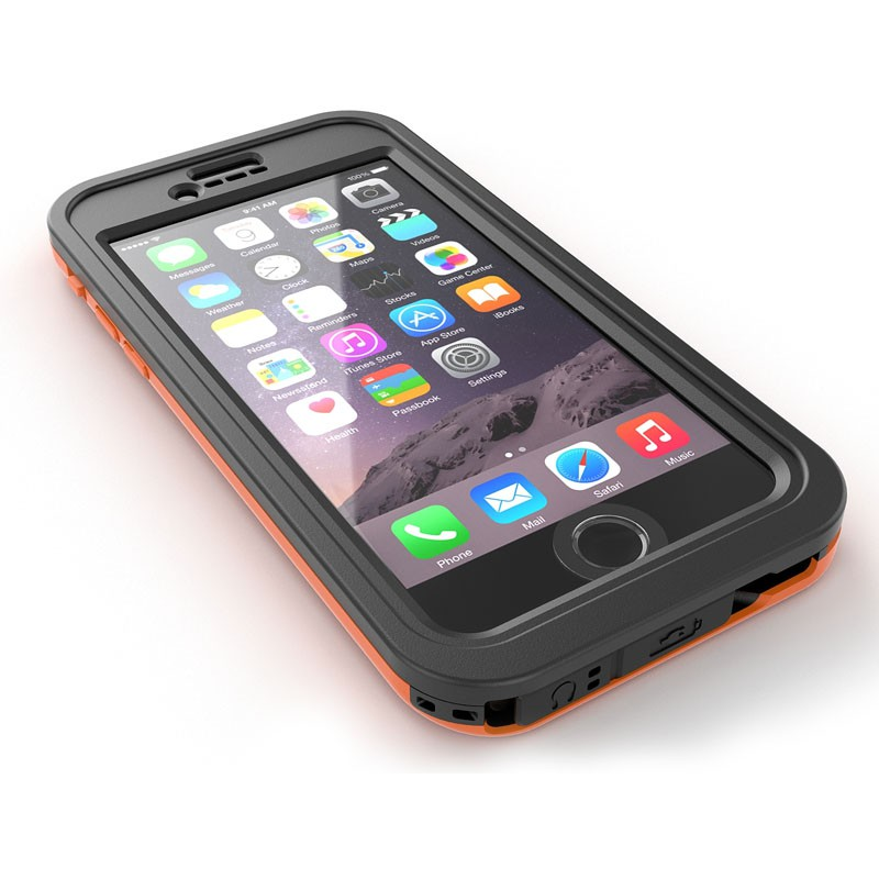Dog and Bone Wetsuit Impact iPhone 6/6S Electric Orange - 3