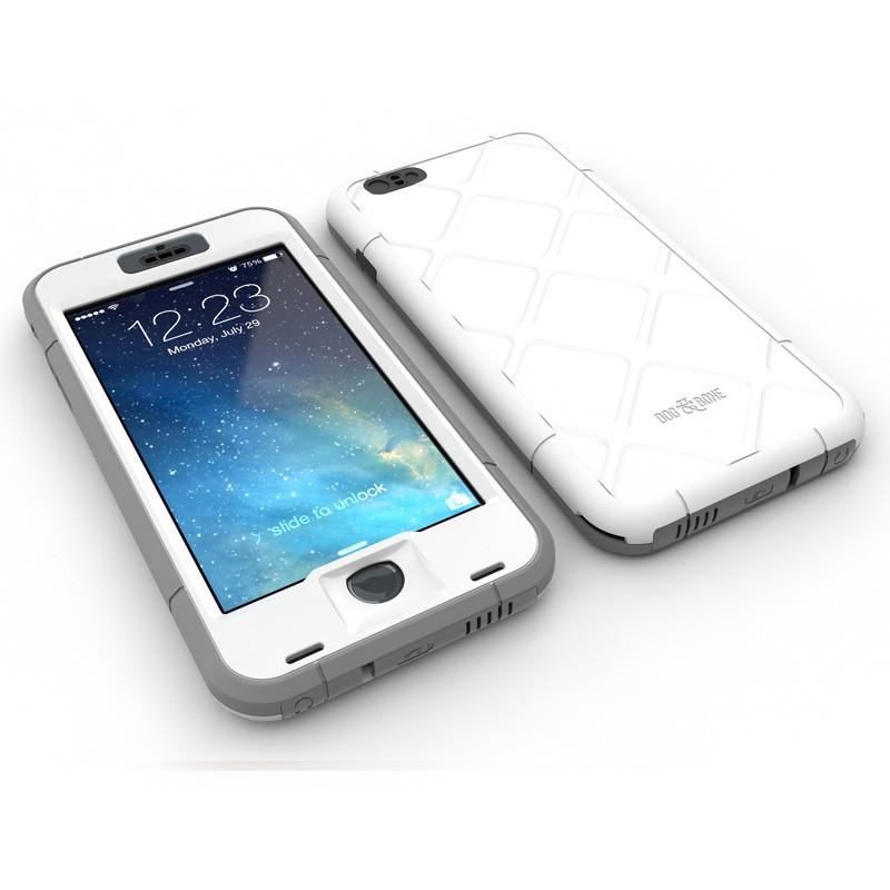 Dog and Bone Wetsuit Phone 6 Plus White - 3