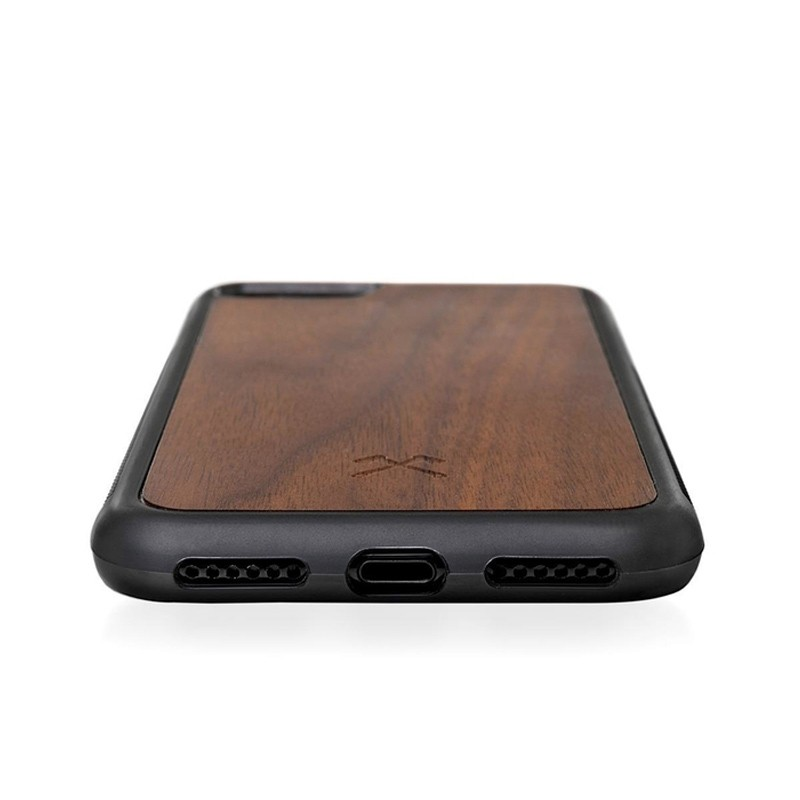 Woodcessories EcoBump iPhone XS Max Hoes Walnoot 03