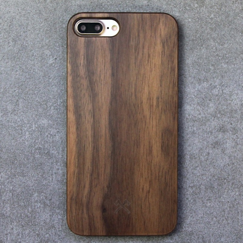 Woodcessories - EcoCase Classic iPhone 7 Plus Walnoot 03