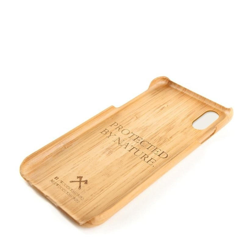 Woodcessories EcoCase Kevlar iPhone X/Xs Bamboo - 3