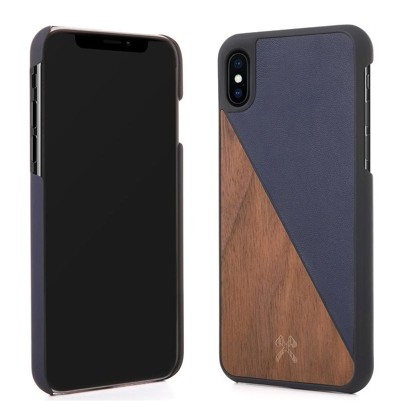 Woodcessories EcoSplit  iPhone X/Xs Walnut/Navy - 3
