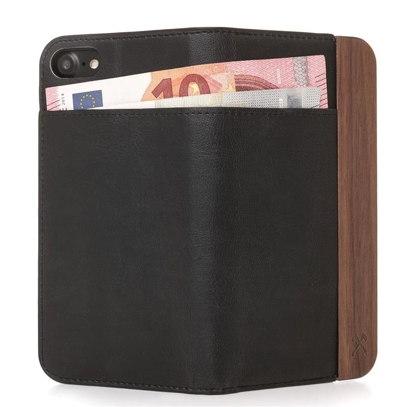 Woodcessories EcoWallet iPhone X Walnut - 3