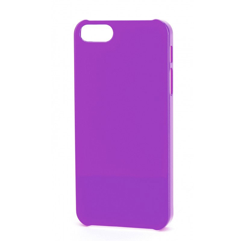 Xqisit iPlate Glossy iPhone 5 (Purple) 03