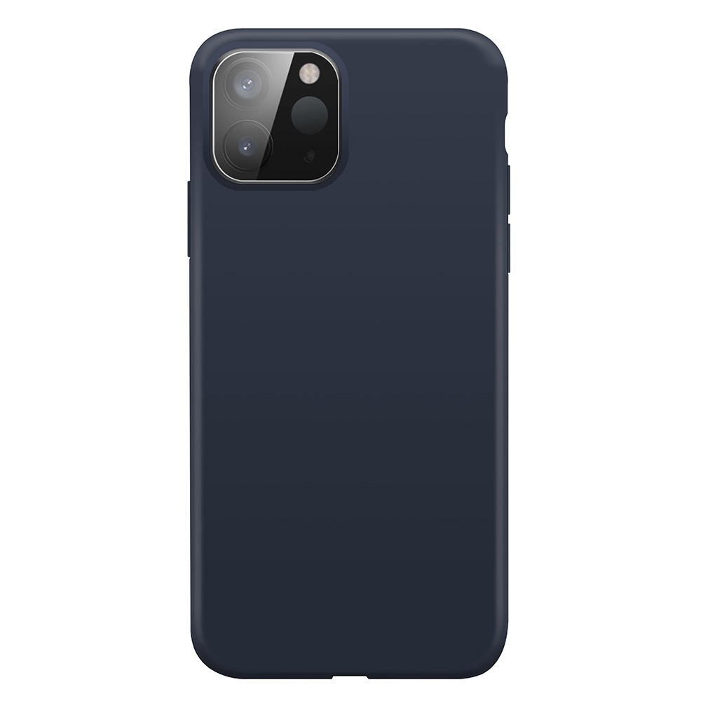 Xqisit Silicone Case iPhone 12 Pro Max 6.7 inch Blauw 03