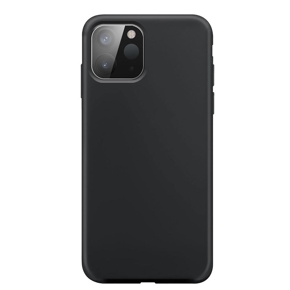 Xqisit Silicone Case iPhone 12 Pro Max 6.7 inch Zwart 03