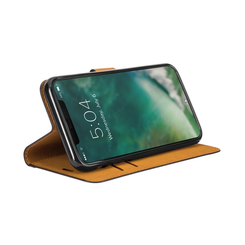 Xqisit Slim Wallet Selection iPhone XS Max zwart 03