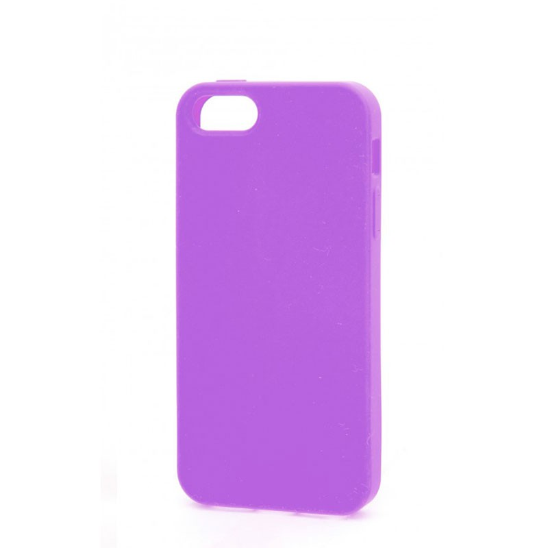 Xqisit Soft Grip Case iPhone 5 (Purple) 03