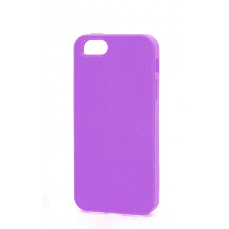 Xqisit Soft Grip Case iPhone 5 (Purple) 03