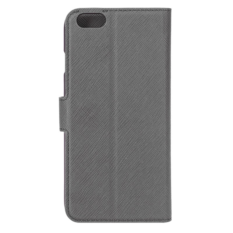 Xqisit - Wallet Case Viskan iPhone 6 Plus / 6S Plus Grey 03