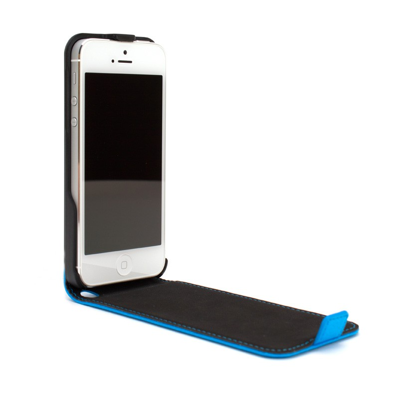 Xqisit Flipcover iPhone 5 Blue - 3