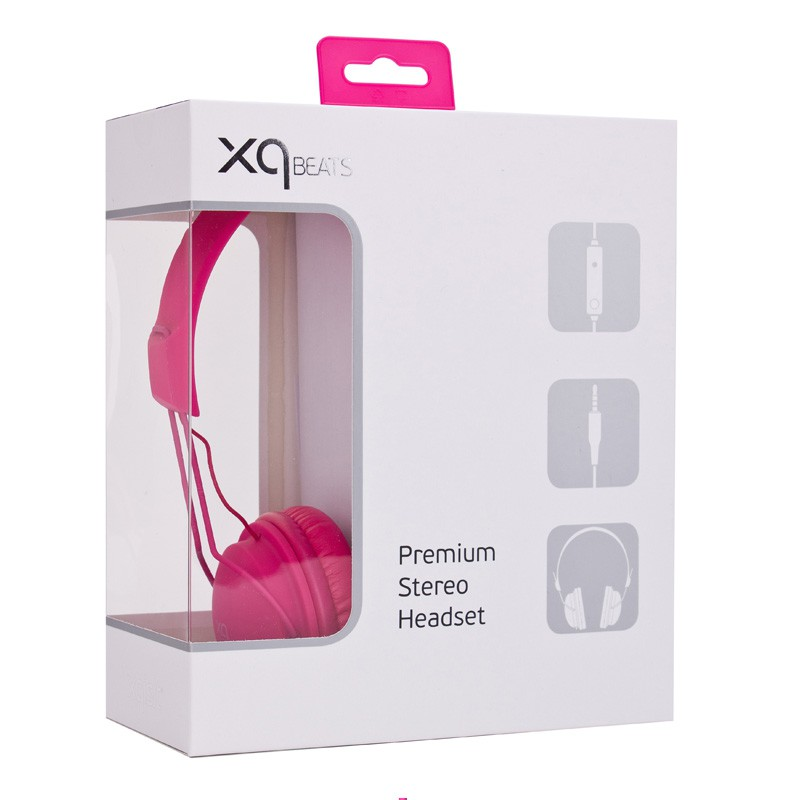 Xqisit HS Over-Ear Headset Pink - 3
