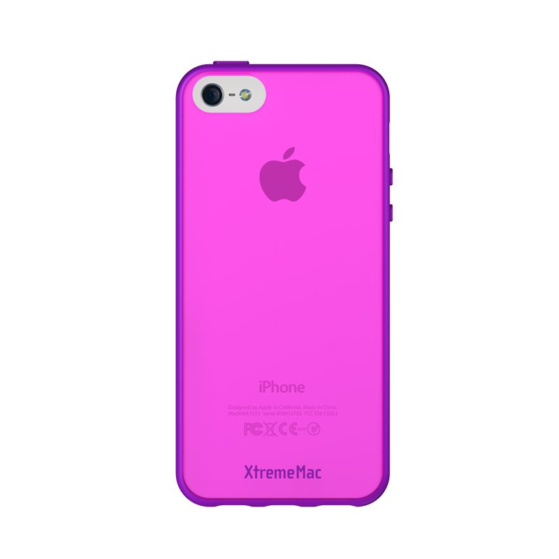 XtremeMac - Microshield Accent iPhone 5 (Purple-Pink) 03