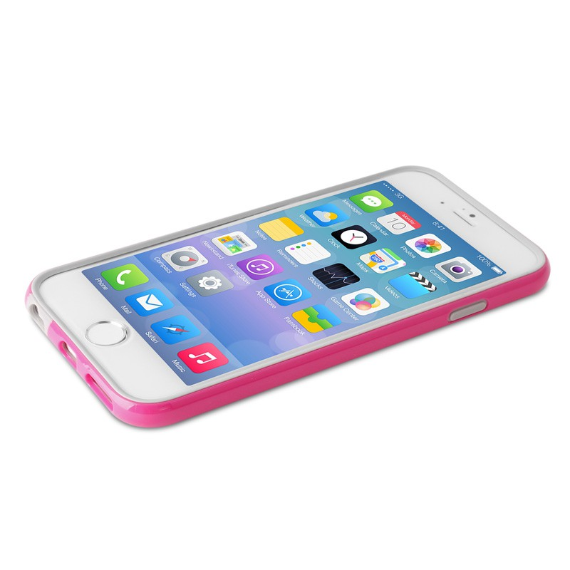 Puro Bumper Case iPhone 6 Plus Pink - 3