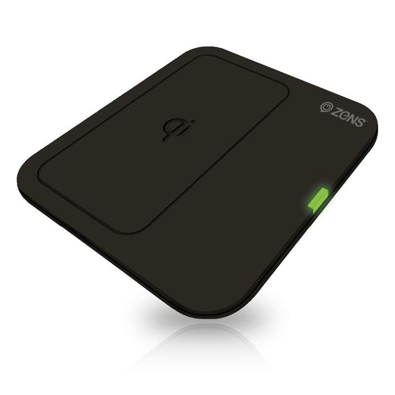 Zens Single Wireless Charger Draadloos Oplaadstation Black 03