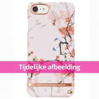 Richmond & Finch - Midnight Blossom iPhone 8 Hoesje cherry blush