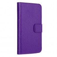 Xqisit - Slim Wallet Case iPhone SE / 5S / 5 Purple 01