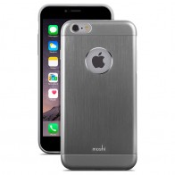Moshi - iGlaze Armour iPhone 6 Plus / 6S Plus Grey 01
