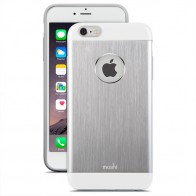 Moshi - iGlaze Armour iPhone 6 Plus / 6S Plus Silver 01