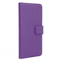 Xqisit - Wallet Case Viskan iPhone 6 / 6S Purple 01