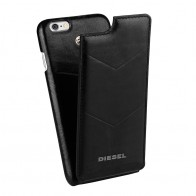 Diesel - Moulded Flip Case iPhone 6 / 6S V style Black 01