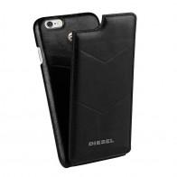 Diesel - Moulded Flip Case iPhone 6 / 6S V style Black 01