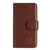 Bugatti - Book Case Milano iPhone SE/5S/5 Brown 01