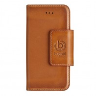 Bugatti - Book Cover Amsterdam iPhone SE/5S/5 cognac 01