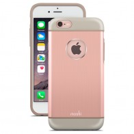 Moshi - iGlaze Armour iPhone 6 Plus / 6S Plus Rose Pink 01
