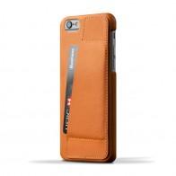 Mujjo Leather Wallet Case 80 iPhone 6 Tan - 1