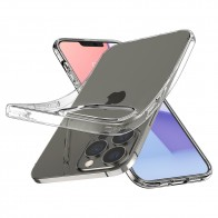 Spigen Liquid Crystal iPhone 13 Pro Transparant 01