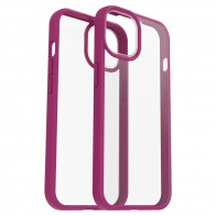 Otterbox React iPhone 13 hoesje Roze Transparant 01