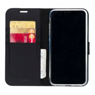 Accezz Booklet Wallet iPhone XS Max Zwart - 1
