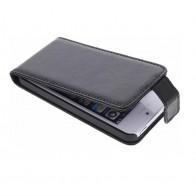 Adapt Leather Flip Case iPhone 5/5S Black